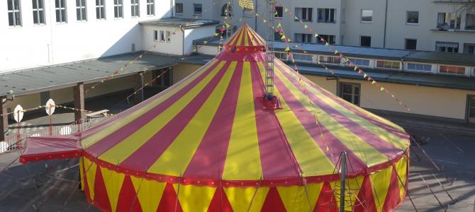 Unsere Kinder machen Zirkus:Projektwoche am Rosenzweigweg