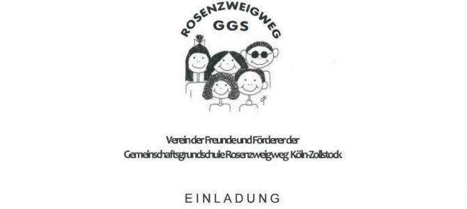 Einladung zur Mitgliedergliederversammlung des Fördervereins Dienstag, den 10.10.2017 um 20 h