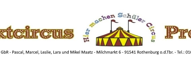 Projektwoche Zirkus am Rosenzweigweg